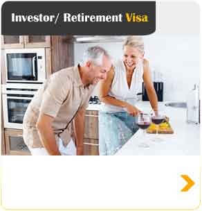 Investor / Retirement visa to Australia